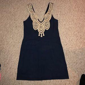 Navy Lilly Pulitzer dress